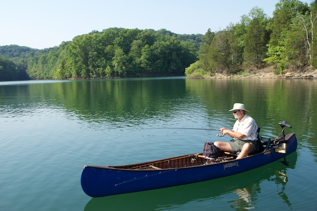 Canoeing Dale Hollow