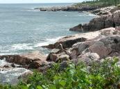 More rocky coast