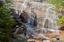 Close up of Arethusa Falls