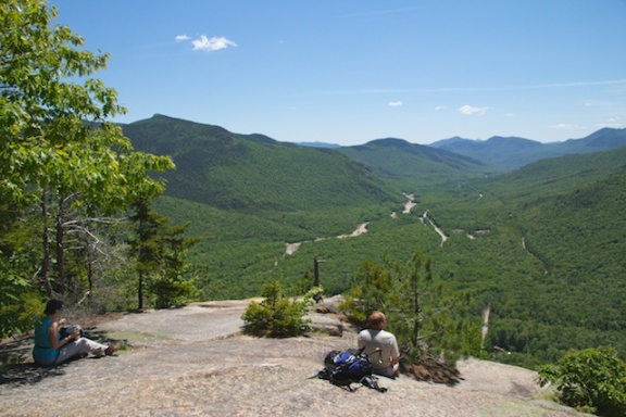 View South to Crawford Notch