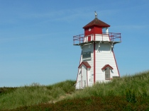Beach lighthouse, PEI