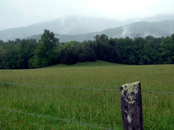 The Smoky Mountains from Cades Cove