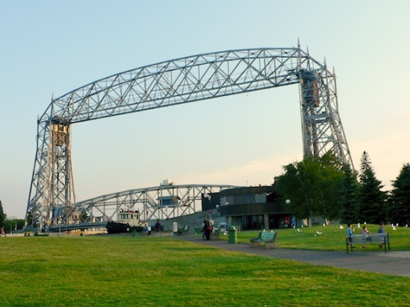 Aerial Bridge Duluth, Minnesota