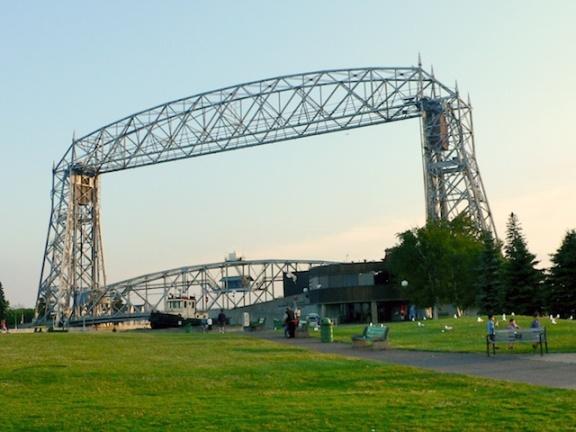 Aerial Bridge Duluth, Minnesota