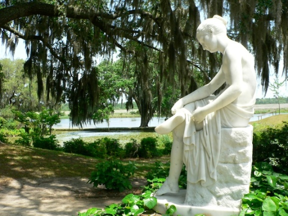 Garden Artwork, Middleton Plantation