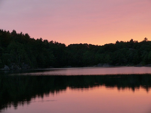 Parry Sound Sunset