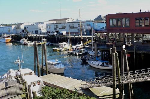 Docks at Portland