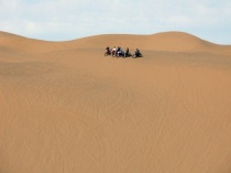 Waiting to ride the Imperial Sand Dunes