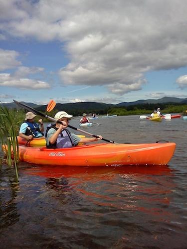 Kayaking Ossipee
