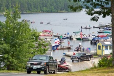 Pro Bass fishing tournament