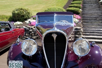 Antique car show in Maine