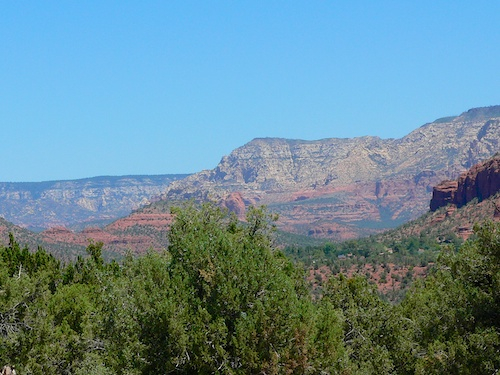 The hills near Sedona