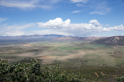 View From the Top of the park, 8500 ft.