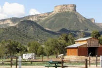 Mesa Verde, the view from camp