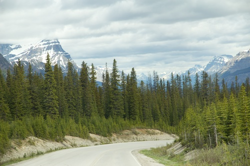 The Icefields Parkway, British Columbia