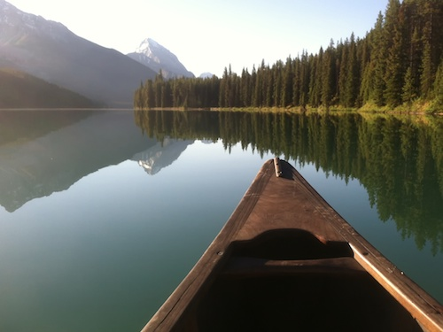 Early Morning, Maligne Lake