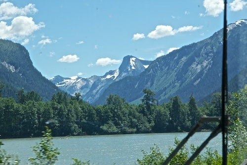 On the Road to Prince Rupert along the Skeena River