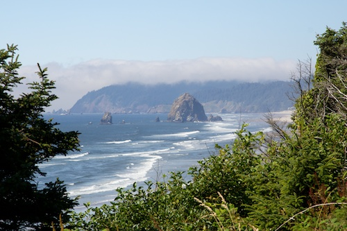 Canon Beach from afar