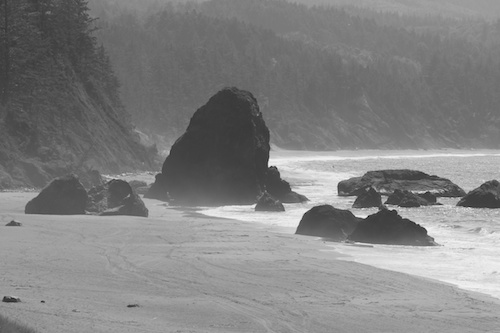 Port Orford coast