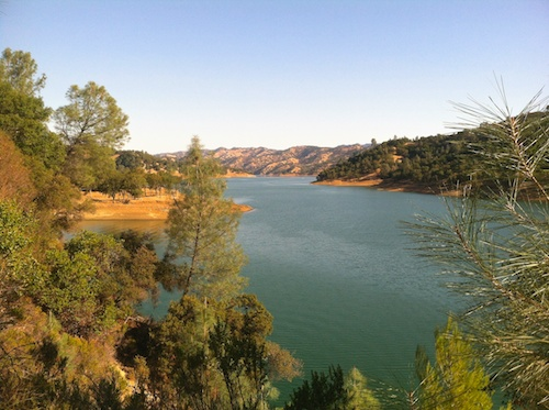Lake Berryessa, in the hills above Napa