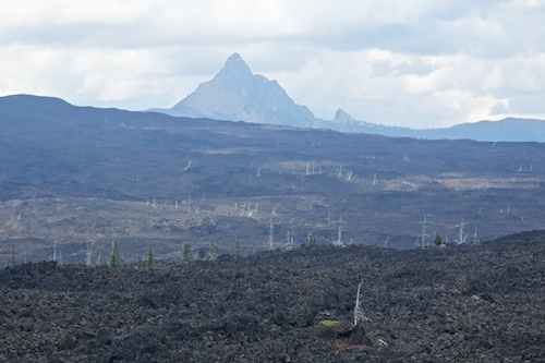 Lava Fields and extinct volcanoes