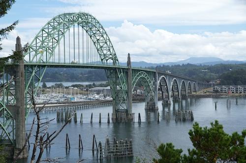 The bridge at Newport
